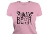 Auntie bear shirt