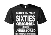 Built in the sixties original and unrestored unisex shirt