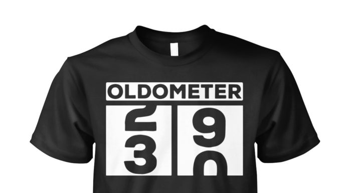 Oldometer 30th Birthday shirt
