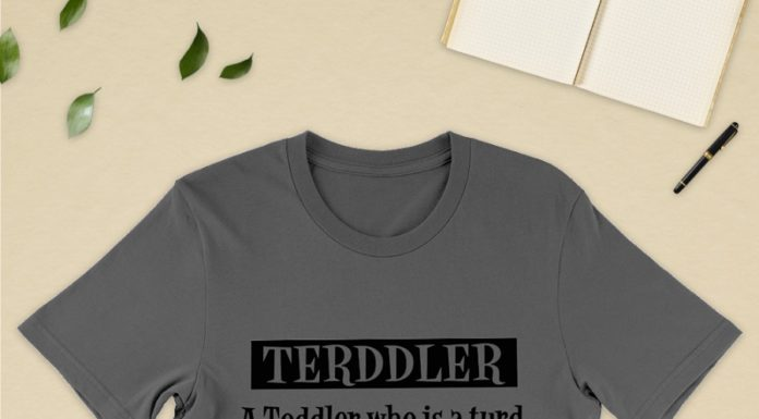 Terddler a toddler who is a turd does not listen shirt