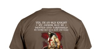 Yes I'm an old knight my armor may be dented T-Shirt