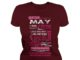 10 reasons Queens are born in May shirt