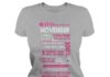 10 reasons Queens are born in November shirt