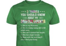 5 Things you should know about my smartass daughter shirt