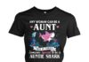 Any woman can be aunt but it take someone special to be a auntie shark women shirt