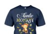 Auntie Monkey Banana-na-nas shirt