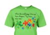 Autism when the world says give up hope whispers try it one more time shirt