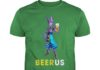 Beerus with beer shirt