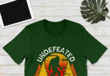 Bigfoot Undefeated Hide And Seek Champion shirt