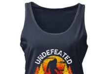 Bigfoot - Undefeated Hide and Seek Champion women tank top