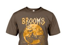 Brooms are for Amateurs Witches Motorcycle Halloween shirt