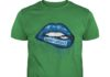 Bud Light love glitter lips shirt