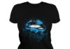 Carolina Panthers love glitter lips shirt