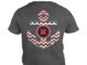 Chevron Anchor Nebraska Cornhuskers shirt