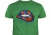 Cleveland Browns love glitter lips shirt