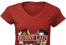 Crazy Bunny Lady shirt