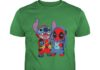 Deadpool and Stitch shirt