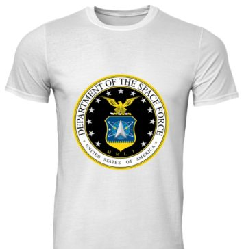 Department of the space force United States of America classic men shirt