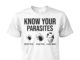 Donald Trump know your parasites deer tick dog tick luna tick unisex shirt