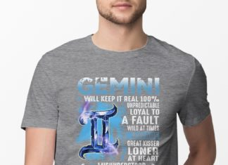 Gemini your lights out will keep it real 100% shirt