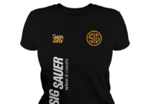 Goku Team Sig Sauer when it counts shirt lady tee