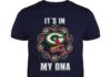 Green Bay Packers and Arizona Cardinals It's in my DNA shirt