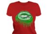 Green Bay Packers love glitter lips shirt
