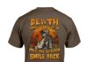 Halloween death smiles at all of us only the veteran smile back shirt