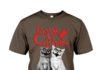 Halloween insane cat posse shirt