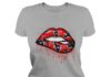 Houston Texans love glitter lips shirt