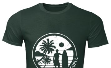 I Hate People – Surfing classic men shirt