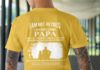 I am not retired I am a professional Papa shirt