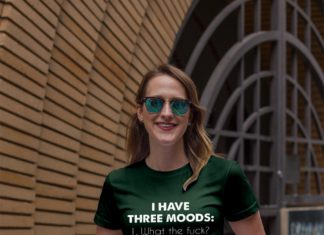 I have three moods what the fuck shirt