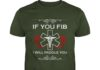 If you fib I'll paddle you shirt