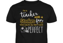 I'm a teacher and a Pittsburgh Steelers fan which means I'm pretty much perfect unisex shirt