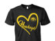 Iowa Hawkeyes heart unisex shirt