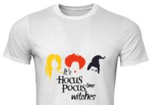 It's hocus pocus time witches classic men shirt