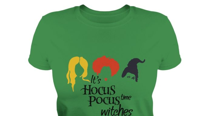 It's hocus pocus time witches shirt