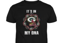 It's in my DNA Louis Cardinals and Green Bay Packers unisex shirt