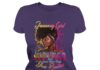 January girl know more than she say thinking more than she speaks shirt - January girl know more than she say shirt