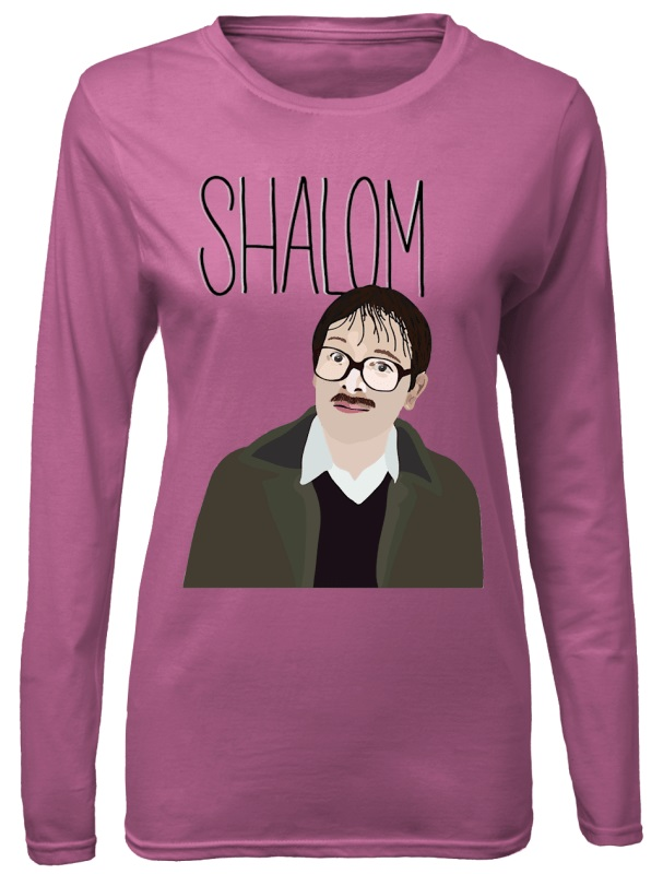 Jim Friday Night Dinner Shalom Jackie shirt