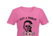 Just a woman who loves Michael shirt
