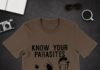Know Your Parasites Deer Tick Dog Tick Luna Tick Trump shirt
