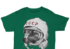 Laika space traveler shirt