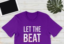 Let the beat drop adenosine shirt