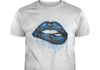 Los Angeles Rams love glitter lips shirt