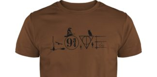 Love Harry Potter Witch Hat shirt