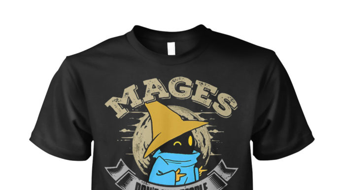 Mages don't kill people spells do shirt