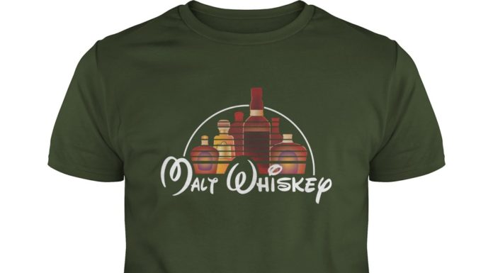 Malt Whiskey not Walt Disney shirt