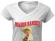 Mason ramsey yodeling boy guitar women v-neck shirt